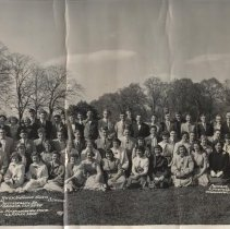 Image of Central Bucks High School 1953 class trip to DC
