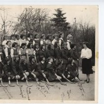 Image of Doylestown High School 1948 hockey team