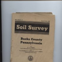 Image of Bucks Co Soil Survey 1946