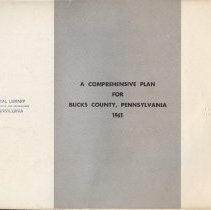 Image of Review of the natural conditions, existing land use, and trends in development together with state, local and private planning policies over the decade of the 1950's.