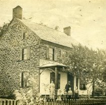 Image of Fretz homestead, Pipersville