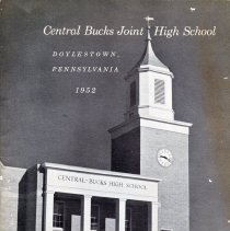 Image of Artifact - Central Bucks Joint High School brochure - 1952