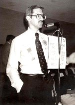 Image of Alan Sams, AAPA Leader, 1982