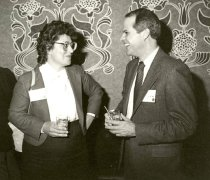 Image of Frances Horvath and Robert Curry, 1983