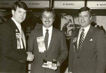 Image of Glenn Combs, Todd Galles, and Lynn May, 1984