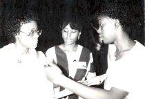 Image of Yvette Beryamin, Rena Layne, Robin Buskey, 1985