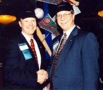 Image of Bruce Bagley and Bill Kohlhepp, undated