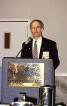 Image of Unidentified man speaking at NE Regional Conference, 1997