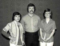 Image of Maryann Ramos, Bill Hughes, Elaine Grant, 1978
