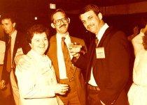 Image of Burdeen Camp, Alan Sams, and Richard Rohrs, 1989