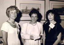 Image of Ann Elderkin and Janet Rigberg Mayes, 1990