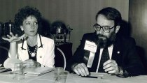 Image of Susan Reich and Bruce Fichandler, 1990