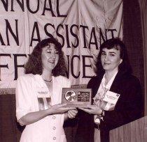 Image of Esther Klinger and Kate Yturri-Byrd, 1991