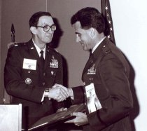 Image of David Gwinn and Jimmie E. Keller, 1991