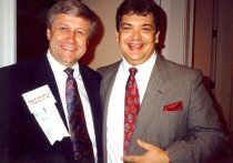 Image of Dan Fox and R. Scott Chavez, 1991
