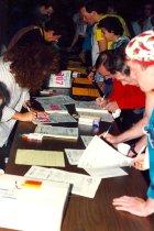 Image of 5K Fun Run sign-up, 1994
