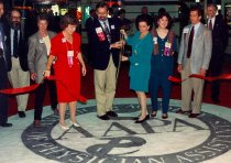 Image of Opening of Exhibit Hall, 1994