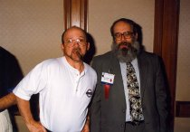 Image of AAPA5.069 - Bob Johnson and Bruce Fichandler, 1996