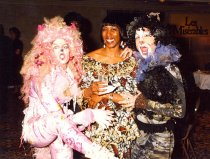 Image of Robin Hunter-Buskey with 'Cats' actors, 1996