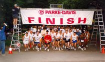 Image of 5K Fun Run start, 1996