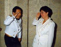 Image of Kenneth Moritsugu and Ann Elderkin, 1996