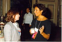 Image of Elizabeth O'Neil and Dawn Morton-Rias, 1996