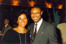 Image of AAPA5.133 - Wendell Wharton with Dawn Morton-Rias, 1996