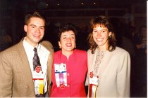 Image of AAPA5.135 - James McGraw, Ann Elderkin, and Beth Grivett, 1996