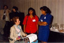 Image of Rena Layne-Bass and Dawne Morton-Rias, 1996