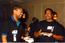 Image of Wendell Wharton and Christopher Lister, 1996