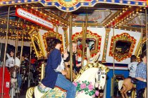 Image of AAPA6.007 - PAs on merry-go-round, 1997