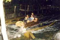 Image of AAPA6.010 - PAs riding roller coaster, 1997
