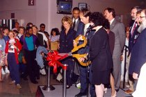 Image of AAPA6.024 - Ribbon Cutting Ceremony, 1997