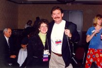 Image of Ina Cushman and Richard Faust, 1997