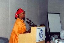 Image of AAPA6.037 - Unidentified woman speaking, 1997