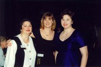 Image of AAPA6.054 - Andrea Stearman, Amy Phillips, and Carolyn Blanco-Losada, 1997