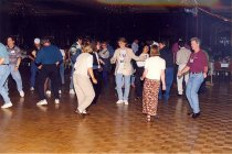 Image of AAPA6.079 - PAF Party, dancing, 1997