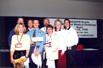 Image of Student Challenge Bowl winners, 1998