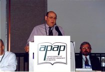 Image of AAPA6.161 - Reggie Carter and Bill Marquardt, 1998