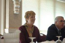 Image of AAPA7.003 - Justine Strand in meeting, 2005