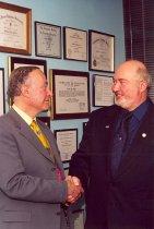 Image of AAPA7.034 - Gerald A. Acker and Bob Blumm, 2001