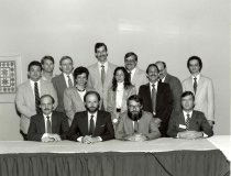 Image of AAPA8.009 - AAPA leaders, 1987
