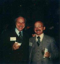 Image of Bob Johnston and James (Jim) Konopa , 1979