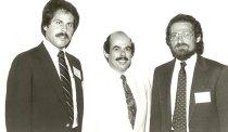 Image of AAPA8.015 - Peter Rosenstein, Henry Waxman, Jack Liskin, 1981