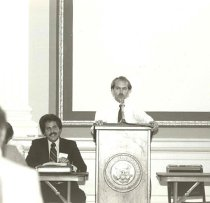 Image of Peter Rosenstein and Brian Biles, 1981