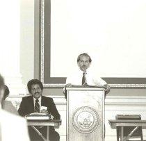 Image of AAPA8.017 - Peter Rosenstein and Brian Biles, 1981