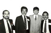Image of AAPA8.018 - Dave Mittman, Peter Rosenstein, Tom Downy, Paul Lombardo, 1981