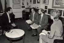 Image of AAPA8.031 - PA/Congressman meeting, CCOW, 1985