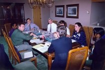 Image of AAPA8.066 - APAP staff at CCOW meeting, 1992