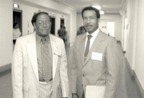 Image of AAPA8.072 - Edward Williams and Alan Pinckney, 1993.